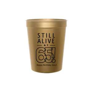 Still Alive Birthday Stadium Cup