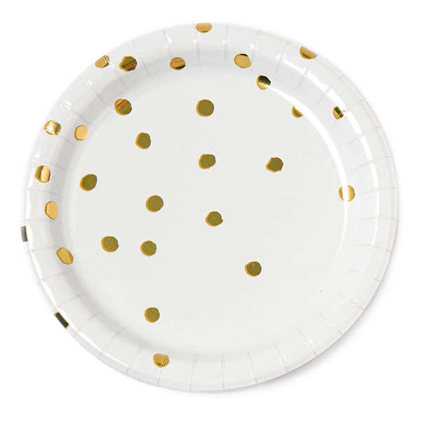 Patterned Paper Plates Pack