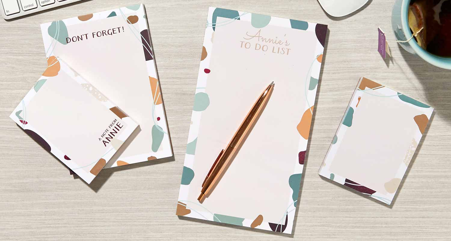 Personalized Notepad Gift Sets