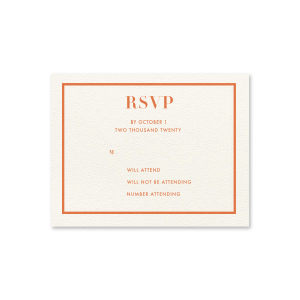Sweet Harvest Maze RSVP Card