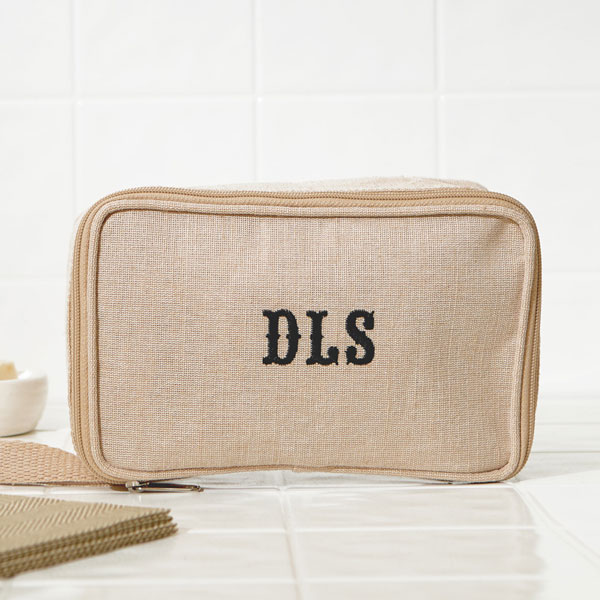 Slab Serif Initials Bag
