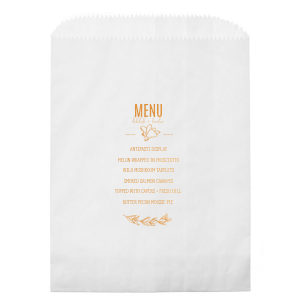 Menu Party Bag