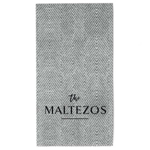 Family Hosting Guest Hand Towel