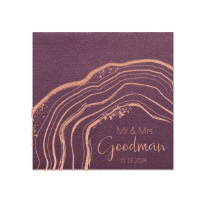 Geode Mr and Mrs Napkin
