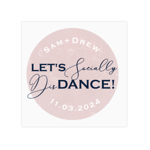 Whimsical Wedding Social Distancing Floor Decals