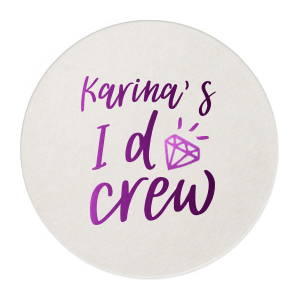 Bachelorette I Do Crew Coaster