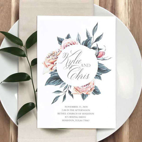 Full Color Invitations