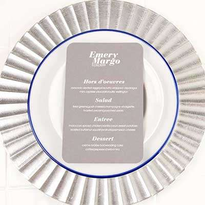 Rounded Corner Menu - Thermography
