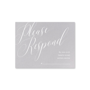 Love Notes RSVP Card