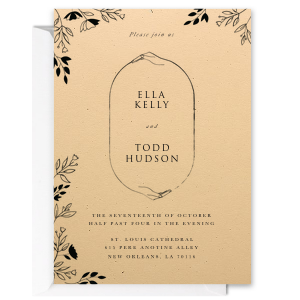 Total Eclipse Wedding Invitation