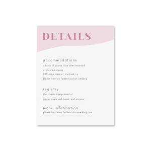 Marry Gold Details Card