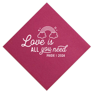 Love Is All Pride Napkin
