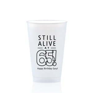 Still Alive Birthday Frost Flex Cup