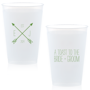 Arrow Monogram Cup