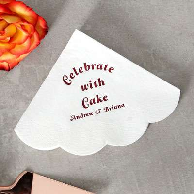 Scallop Luncheon Napkins