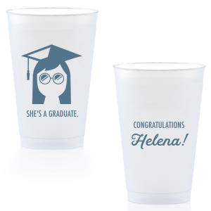 She's A Graduate Frost Flex Cup