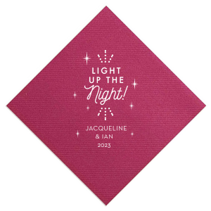 Light Up The Night Sparkle Napkin