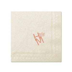 Royal Couple Napkin