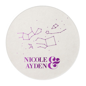 Constellation Couple Coaster