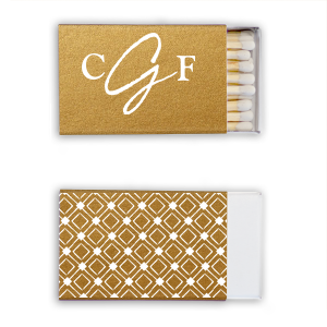 Modern Brush Monogram Match
