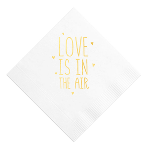 Love Is In The Air Retail Napkin