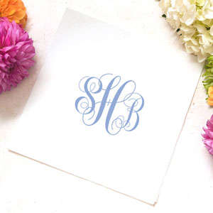 Ink Printed Luncheon Napkins