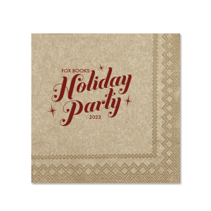 Sparkle Holiday Party Napkin