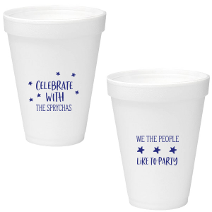 We The People Celebrate Foam Cup