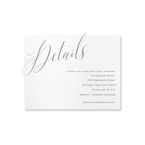 Love Notes Details Card